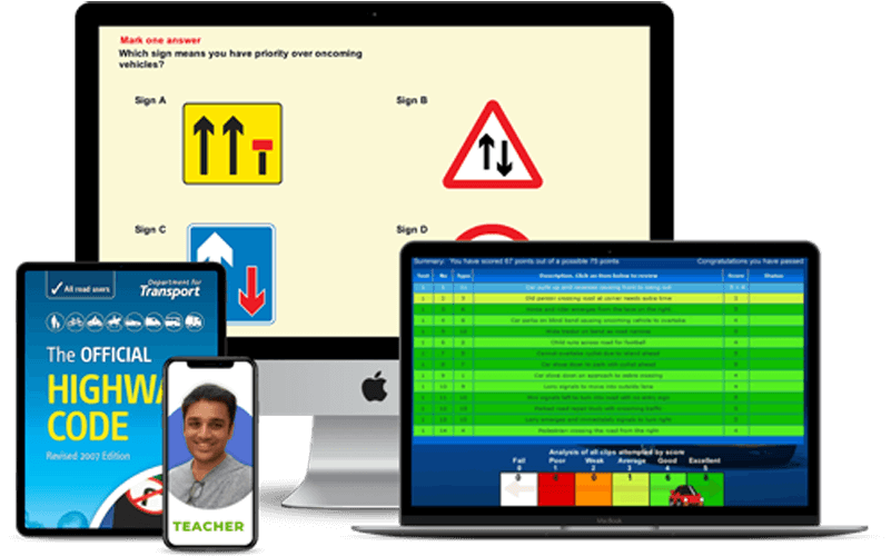 driving theory test preparation materials