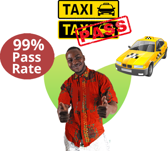 learn how to drive a taxi
