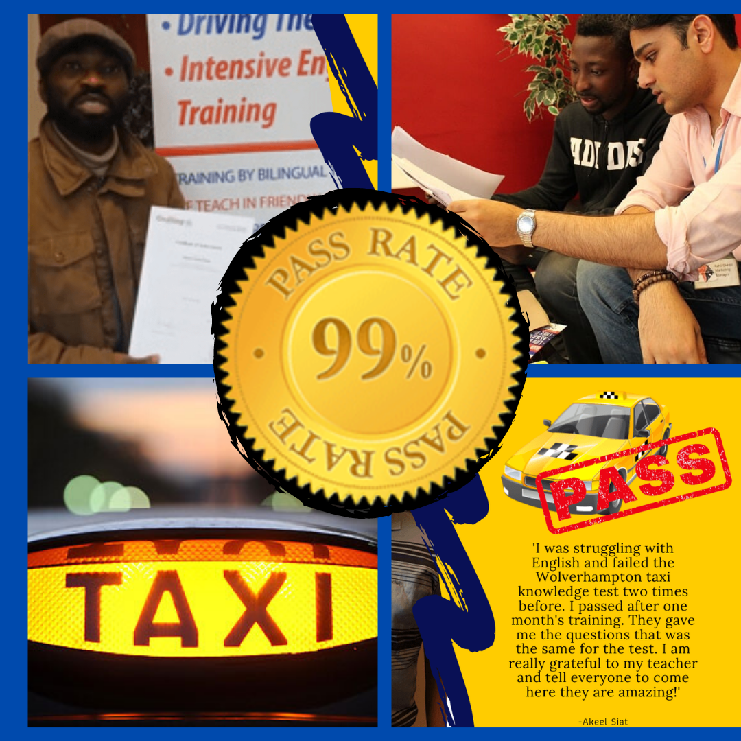 Taxi Knowledge test online course