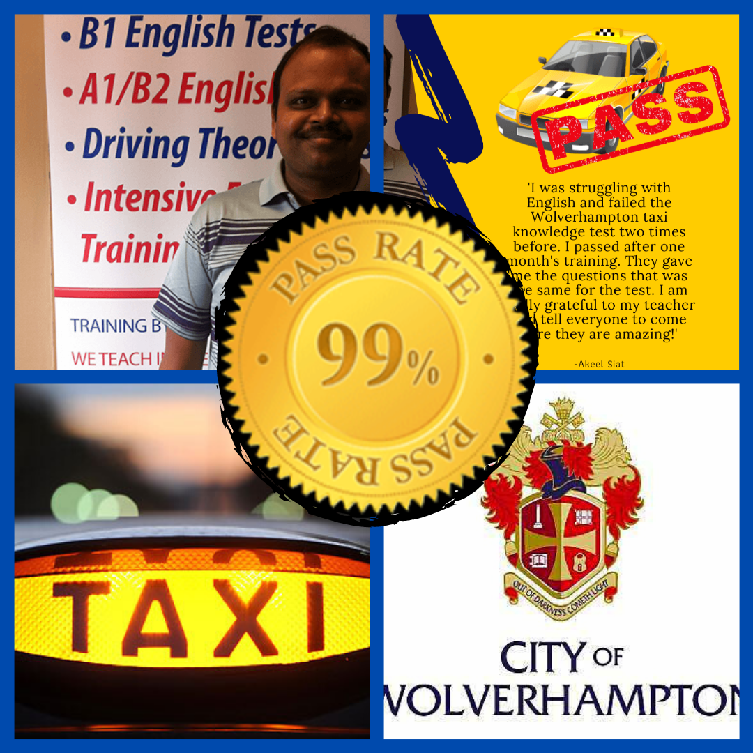 Taxi for wolverhampton