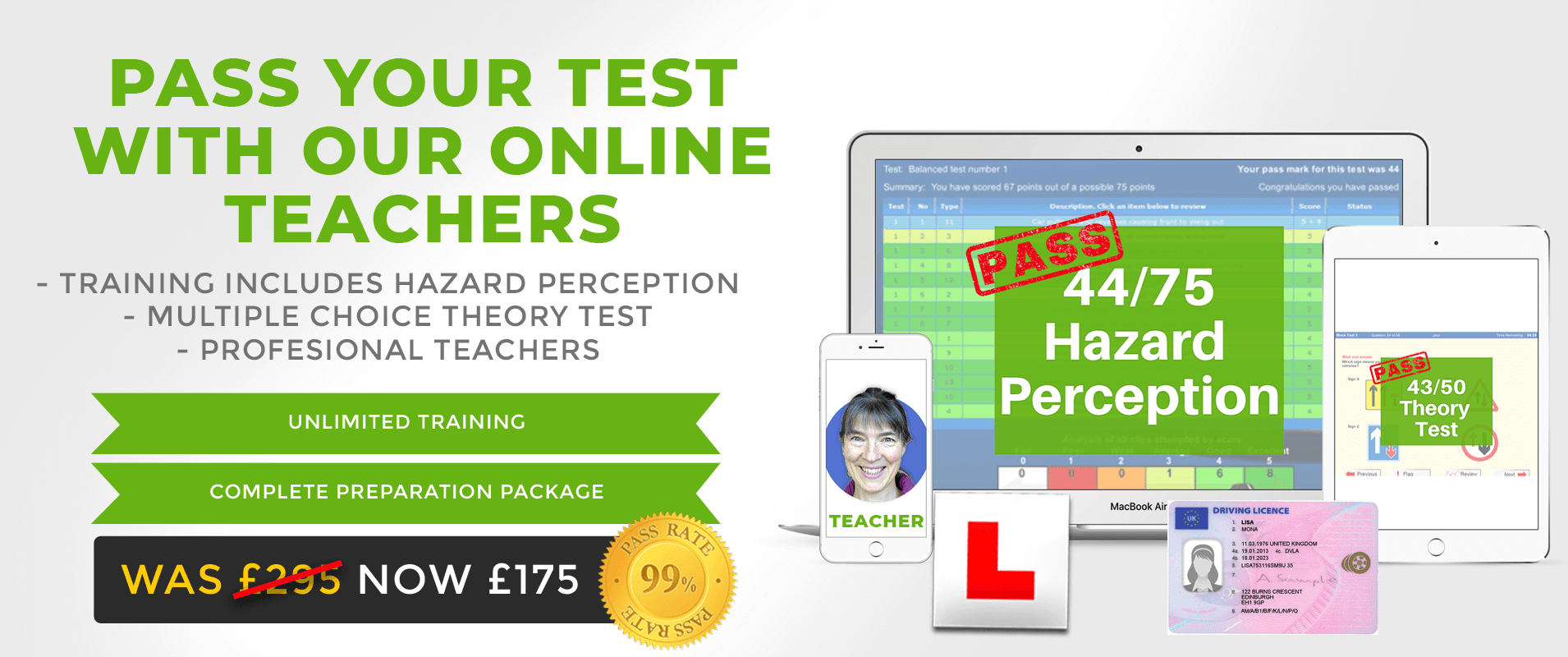 Driving theory online training