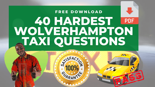 Wolverhampton Taxi Knowledge Questions Free