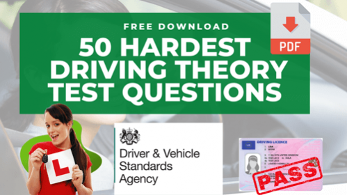 50 hardest driving theory test questions