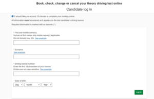 Visit the driving theory test website to book your test
